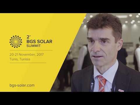 Henner Funk (REFU Elektronik GmbH) Interview @ 2nd BGS Solar Summit, November 2017