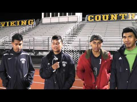 Zebras vs Vikings Post-Game Interview with Zebras Soccer Team 10-19-15