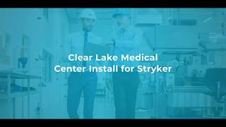 KR Wolfe Helps Clear Lake Hospital Implement Stryker's New State-of-the-Art Router