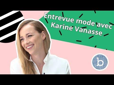 Entrevue mode avec Karine Vanasse