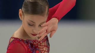 Alena Kostornaia World Junior Championships 2018 Short Program