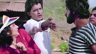 Mithun saves Rati Agnihotri from goons | Jeeban Chakro | Bollywood Scene Bengali Dubbed