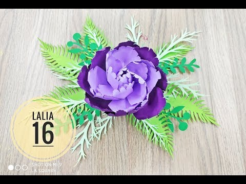 Lalia 16 cardstock DIY Paper flower backdrop