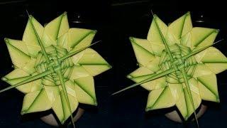 How to make a sunflower of date palm // खजूर पत्ते से बने सूरजमुखी फूल. DIY