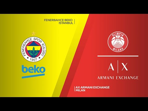 Fenerbahce Beko Istanbul - AX Armani Exchange Milan Highlights | EuroLeague, RS Round 14