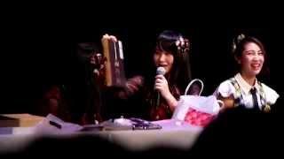 7.29 ANA×AKB48 中国上海 高橋朱里 土特产 介绍礼物.