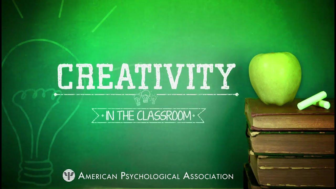 Creativity in the classroom - YouTube