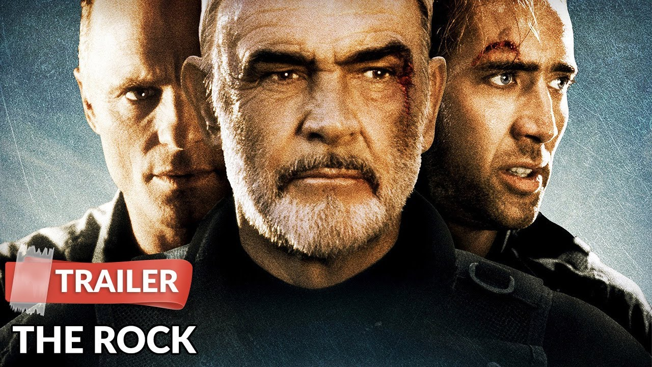 The Rock 1996 Trailer Hd Sean Connery Nicolas Cage Ed Harris Youtube