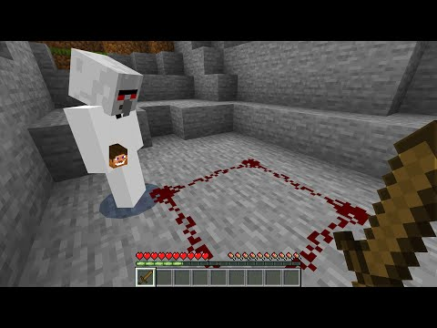The Ghost Villager is trying to summon something in Minecraft.. (NOT GOOD)