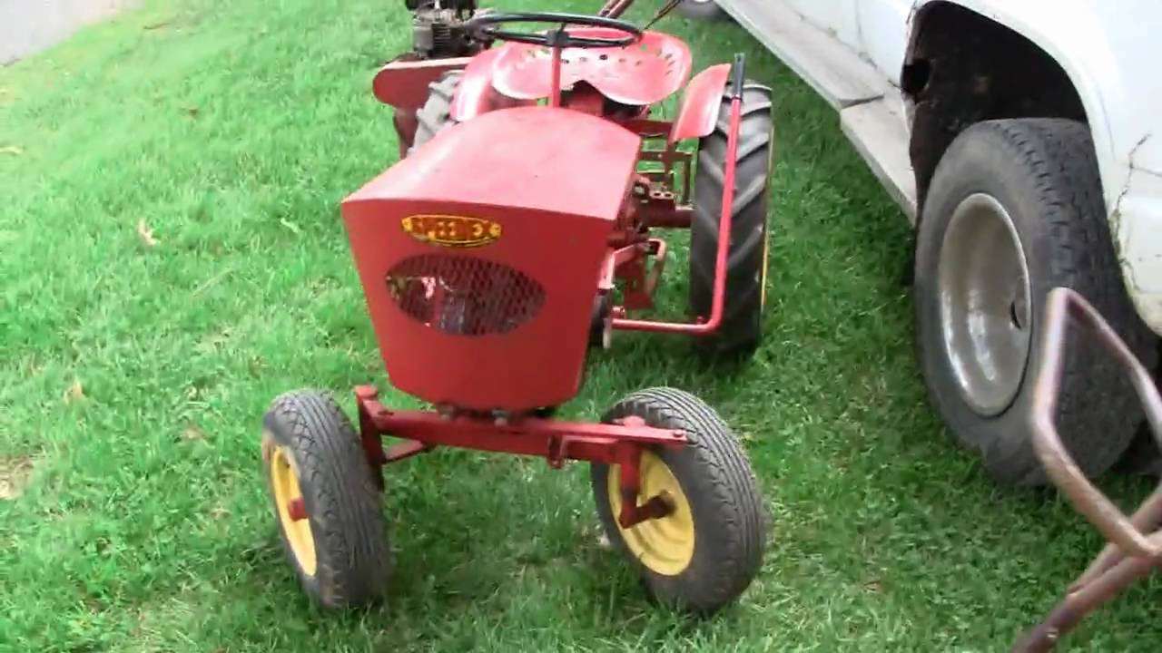 Speedex Garden Tractor Youtube