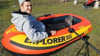Тест - обзор лодки за 1500 рублей.