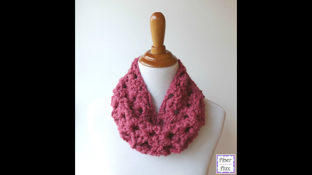 Episode 158: How To Crochet the Agnes Lace Cowl - YouTube