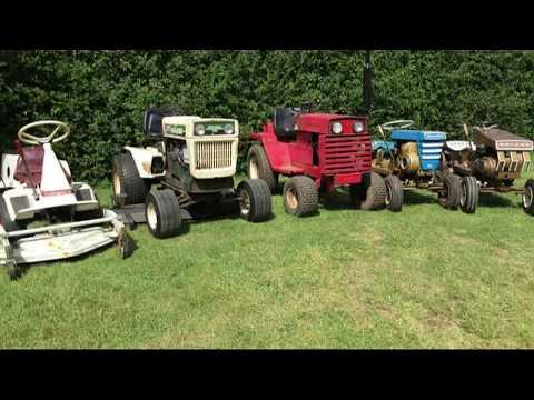 Garden tractor fun