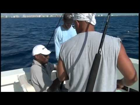 Fathers Day Deep Sea Fishing 2011, South Beach, Miami Florida