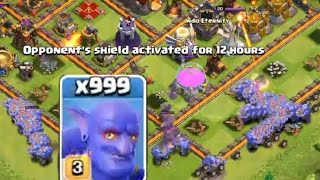 Clash of Clans - 999 BOWLER ATTACKS
