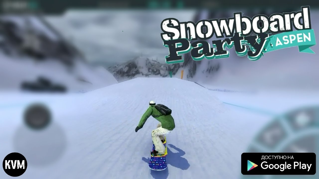 Ski Safari для Android и iOS - YouTube