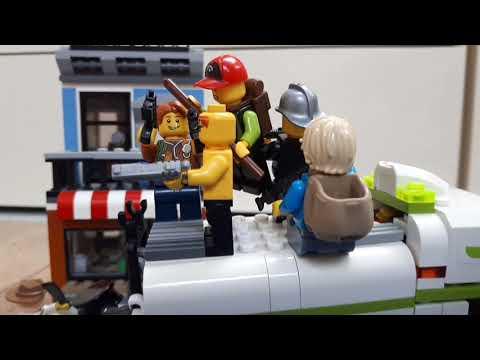 Зомби Апокалипсис Лего мультик  1 серия