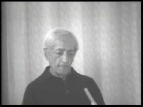 Krishnamurti - Brockwood Park (1978) - School Discussion 2(Intelligence is not personal)