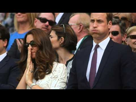 Kate Middleton And Prince William Are So Emotionally in Andy Murray at - Tennis Wimbledon 2014