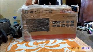 Sanyo LED TV. XT-32S7000H Unboxing and full review