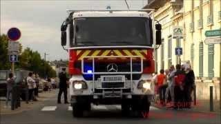 Défilé Congrès des Sapeurs Pompiers du Loiret 2015 / SDIS 45