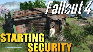 FALLOUT 4 Starting Security - Settlement Defense Ideas and Strategy