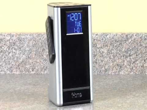 iHome iP39 Kitchen Timer and FM Alarm Clock Radio Speaker System for iPhone/iPod
