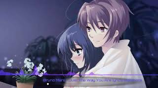 Gambar cover Just the way you are - Bruno Mars - Nightcore