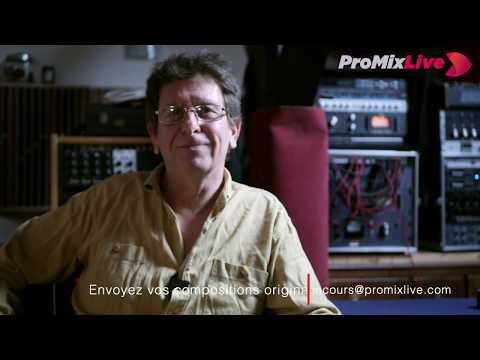Pascal GARNON mixe votre musique