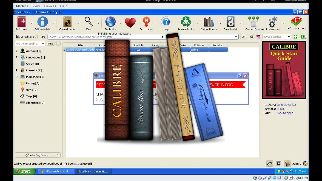 [Let's share books] Calibre plugin  Quick demonstration