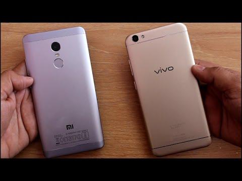 Redmi Note 4 Vs Vivo V5 SpeedTest Comparison I Hindi