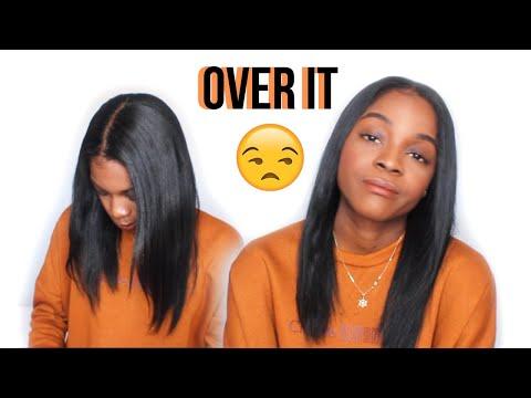 SICK OF RELAXING MY OWN HAIR?| Very honest relaxer update
