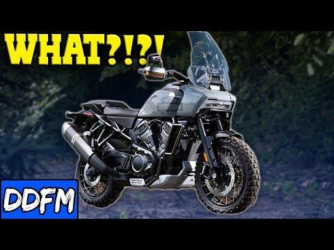 🔴 New Harley Davidson Adventure Bike!?