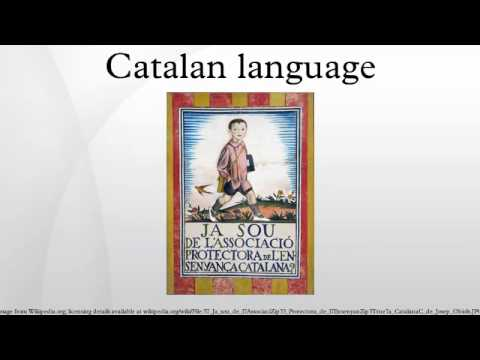 Catalan language