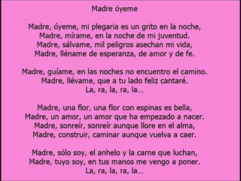 Amor de madre lyrics - YouTube
