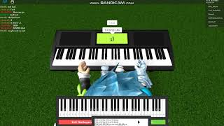 How to play demons on roblox piano / EPIC FAIL #2