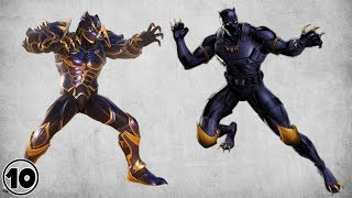 Top 10 Alternate Black Panther Suits