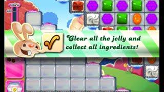 Candy Crush Saga Level 1690 walkthrough (no boosters)