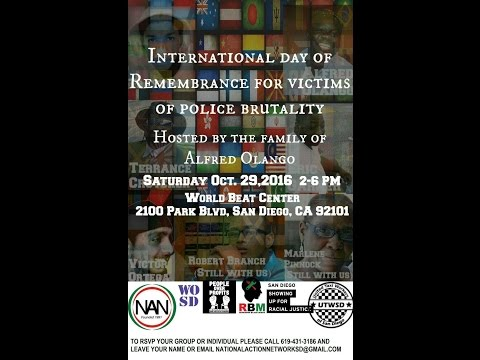 Live Stream - International Day of Remembrance for Victims of Police Brutality