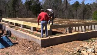 Building My Own Home: Episode 19 - Putting Down the Sub Floor