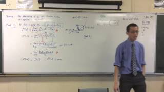 The Second Derivative (3 of 3: Using the Product Rule to Prove Theorems)