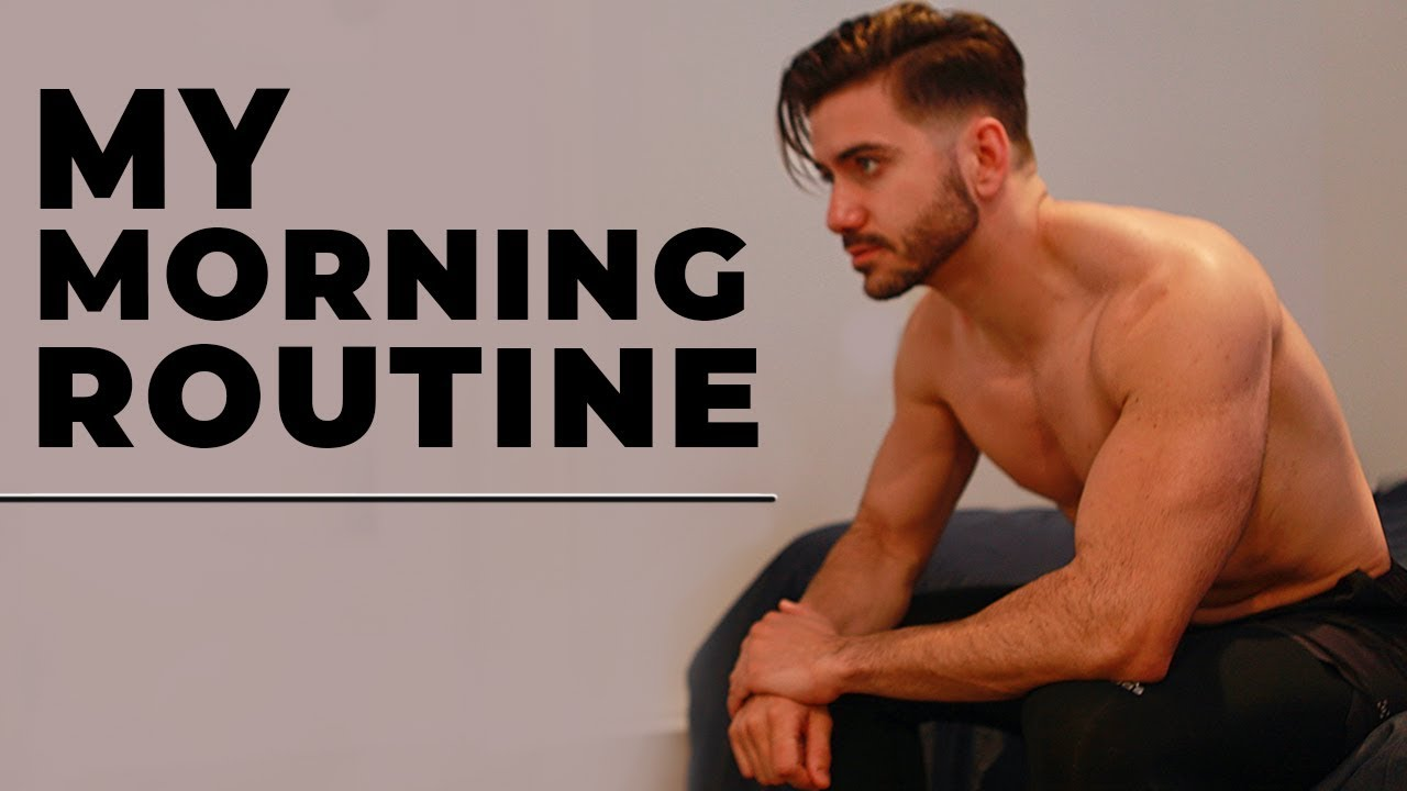 MY MORNING ROUTINE | Healthy Men's Morning Routine 2018 | ALEX COSTA image