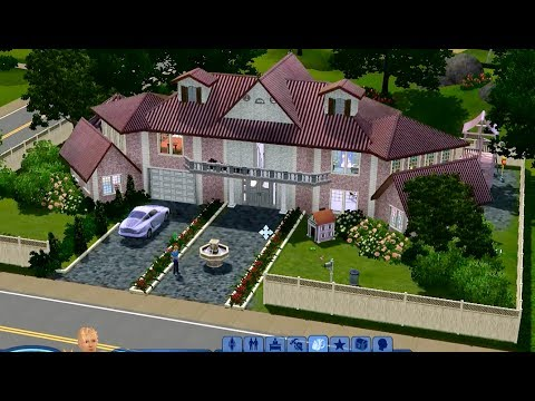 Симс 3 Строительство дома Dollhouse.