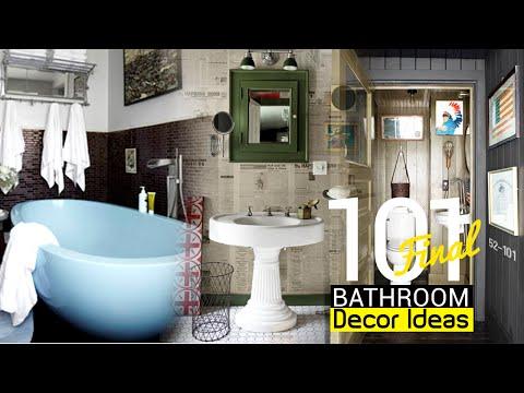101 Clever Bathroom Decor ideas (Final)