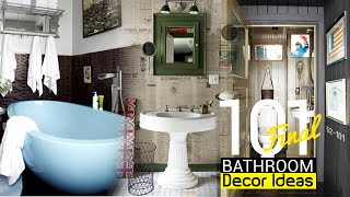 101 Clever Bathroom Decor Ideas (final)