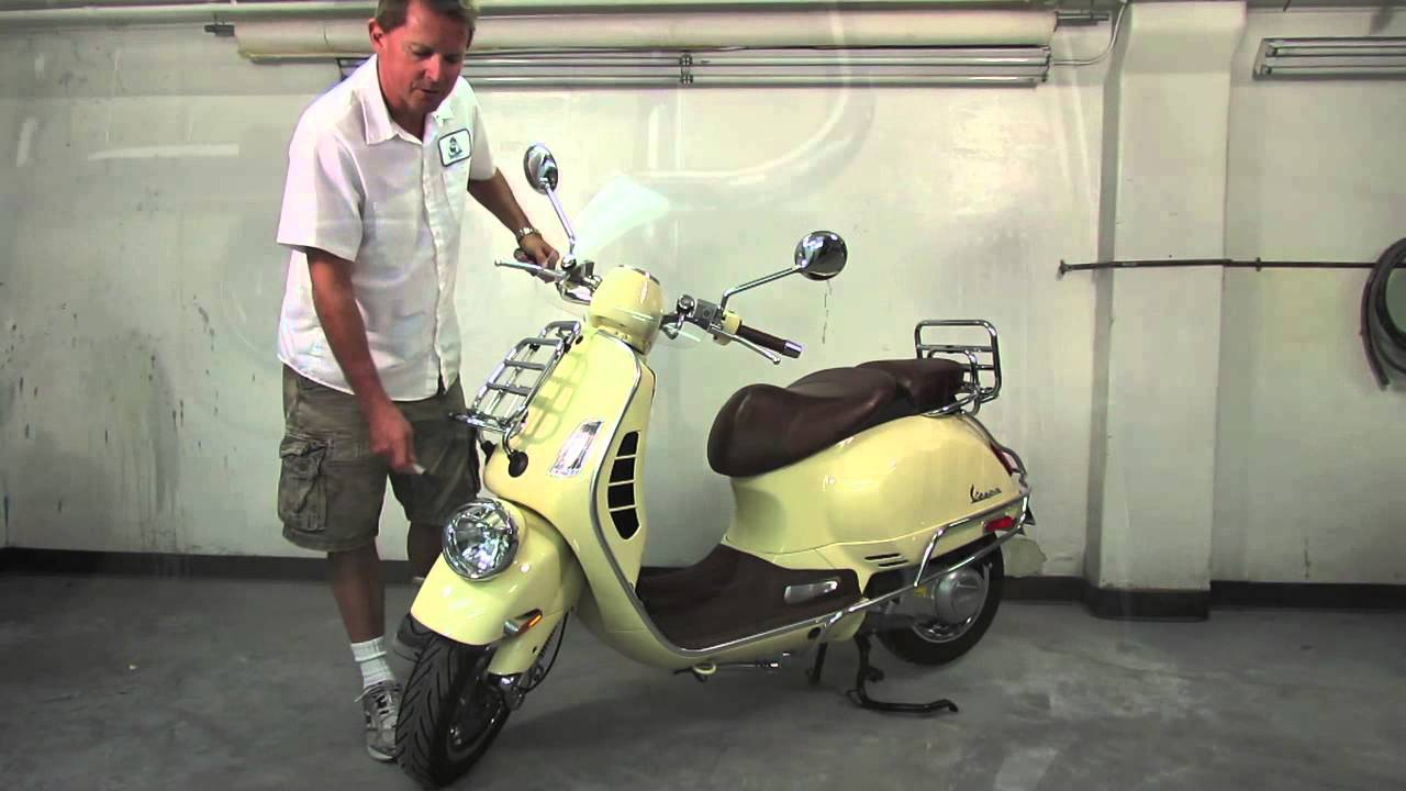exclusive accessories for vespa gtv 300 youtube. Black Bedroom Furniture Sets. Home Design Ideas