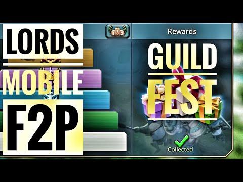 Lords Mobile - Last Guild Fest Of 2018!