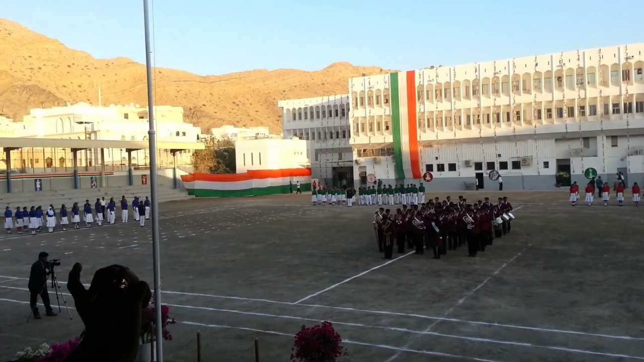 2013 Republic Day March Past Indian School Muscat Part-I ...