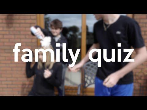 FAMILY QUIZ!