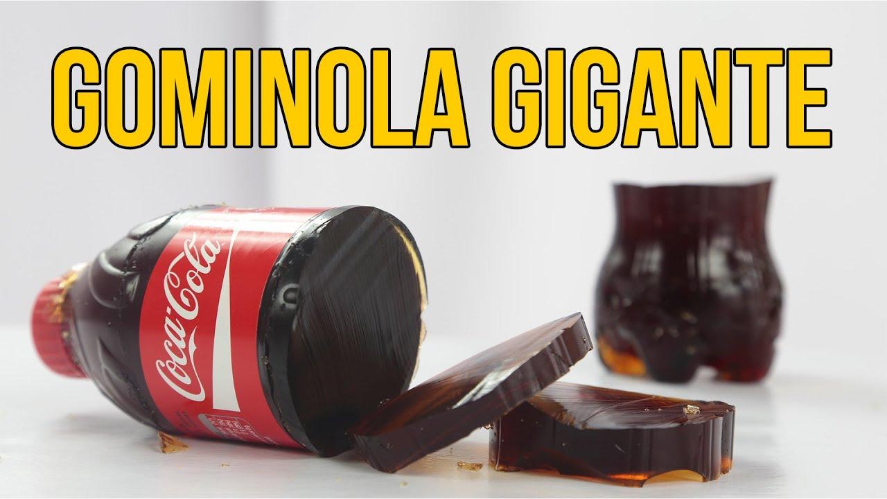 c6c8fdc5c Cómo hacer una gominola de COCA COLA gigante (Experimentos Caseros ...
